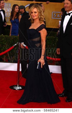 Jessica Lange at the 19th Annual Screen Actors Guild Awards Arrivals, Shrine Auditorium, Los Angeles, CA 01-27-13