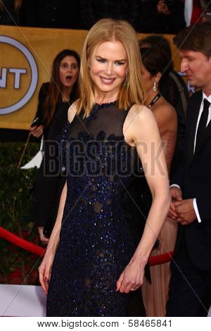 Nicole Kidman at the 19th Annual Screen Actors Guild Awards Arrivals, Shrine Auditorium, Los Angeles, CA 01-27-13