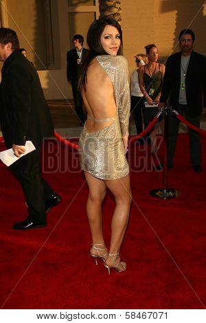 LOS ANGELES - NOVEMBER 21: Katharine McPhee at the 34th Annual American Music Awards at Shrine Auditorium November 21, 2006 in Los Angeles, CA