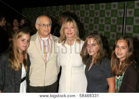 LOS ANGELES - NOVEMBER 08: Norman Lear and family at the 16th Annual Environmental Media Association Awards at Wilshire Ebell Theatre November 08, 2006 in Los Angeles
