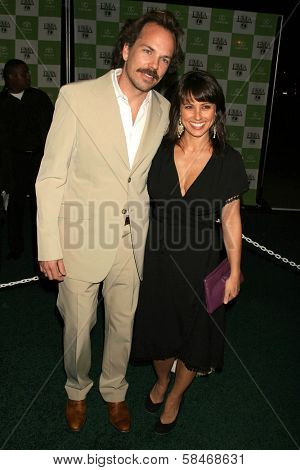 LOS ANGELES - NOVEMBER 08: Constance Zimmer and Russ Lamoureux at the 16th Annual Environmental Media Association Awards at Wilshire Ebell Theatre November 08, 2006 in Los Angeles