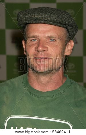 LOS ANGELES - NOVEMBER 08: Flea at the 16th Annual Environmental Media Association Awards at Wilshire Ebell Theatre November 08, 2006 in Los Angeles