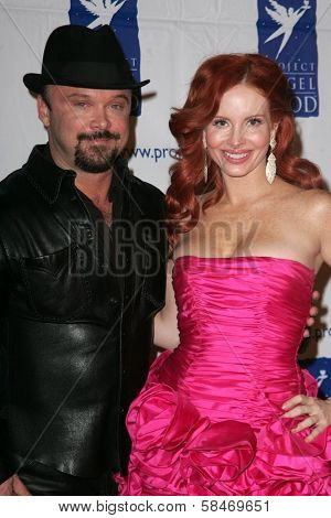 BEVERLY HILLS - NOVEMBER 30: Louie Jones and Phoebe Price at Divine Design 2006 Benefitting Project Angel Food at Beverly Hilton November 30, 2006 in Beverly Hills