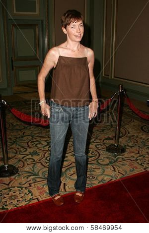PASADENA - JULY 22: Julianne Nicholson at the NBC TCA Press Tour at Ritz Carlton Huntington Hotel on July 22, 2006 in Pasadena, CA.