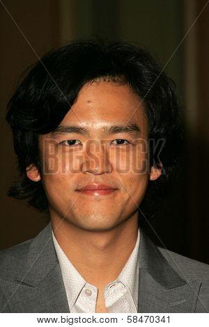 PASADENA - JULY 22: John Cho at the NBC TCA Press Tour at Ritz Carlton Huntington Hotel on July 22, 2006 in Pasadena, CA.