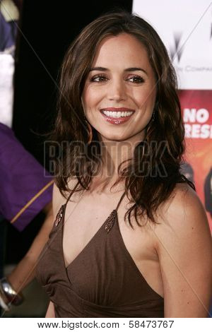 HOLLYWOOD - JULY 11: Eliza Dushku at the premiere of