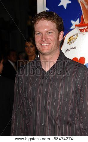 HOLLYWOOD - JULY 26: Dale Earnhardt Jr. at the Premiere Of