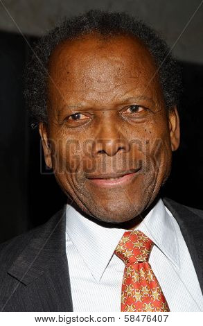 Sidney Poitier at the Billy Wilder Theater Opening Tribute. Hammer Museum, Westwood, California. December 3, 2006.