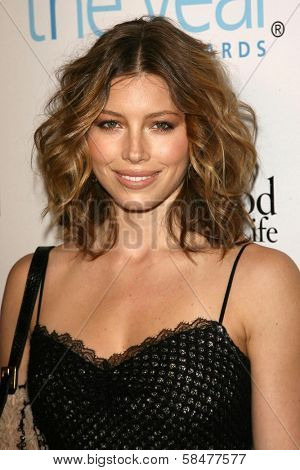 Jessica Biel at the Hollywood Life Magazine's Breakthrough of the Year Awards. Music Box, Hollywood, California. December 10, 2006.