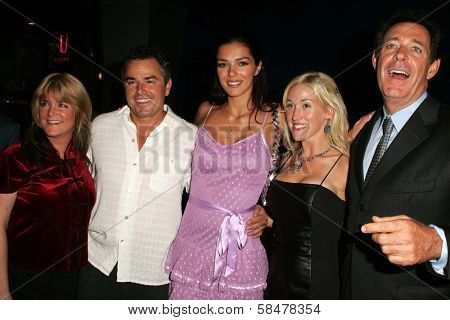 UNIVERSAL CITY - JULY 19: Susan Olsen, Christopher Knight, Adrianne Curry, Barry Williams at the Premiere Screening of