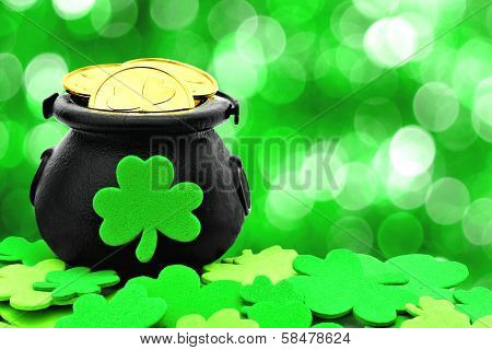 St Patricks Day pot of gold
