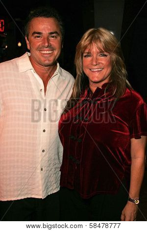 UNIVERSAL CITY - JULY 19: Christopher Knight and Susan Olsen at the Premiere Screening of