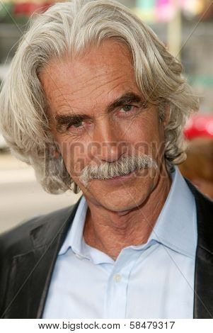 HOLLYWOOD - JULY 30: Sam Elliott at the World Premiere of