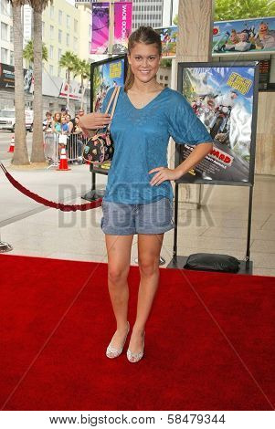 HOLLYWOOD - JULY 30: Lindsey Shaw at the World Premiere of