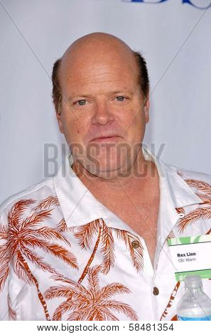 PASADENA - JULY 15: Rex Linn at CBS's TCA Press Tour at The Rose Bowl on July 15, 2006 in Pasadena, CA.