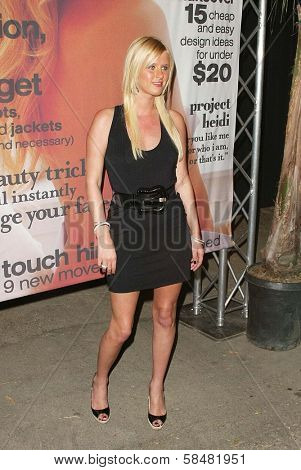 BEVERLY HILLS - JULY 20: Nicky Hilton at Jane Magazine's