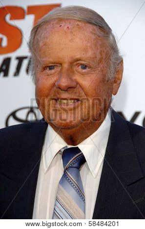 STUDIO CITY, CA - AUGUST 13: Dick Van Patten at