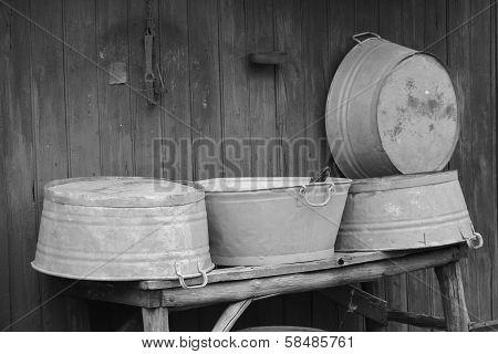 Old Washtubs