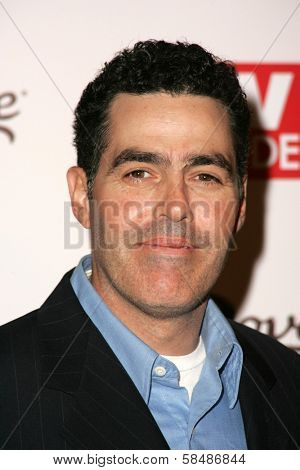 HOLLYWOOD - AUGUST 27: Adam Carolla at the TV Guide Emmy After Party August 27, 2006 in Social, Hollywood, CA.