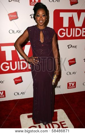 HOLLYWOOD - AUGUST 27: Tichina Arnold at the TV Guide Emmy After Party August 27, 2006 in Social, Hollywood, CA.