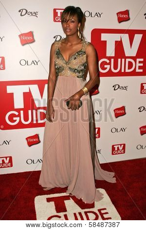 HOLLYWOOD - AUGUST 27: Aisha Tyler at the TV Guide Emmy After Party August 27, 2006 in Social, Hollywood, CA.
