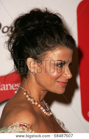 HOLLYWOOD - AUGUST 27: Paula Abdul at the TV Guide Emmy After Party August 27, 2006 in Social, Hollywood, CA.