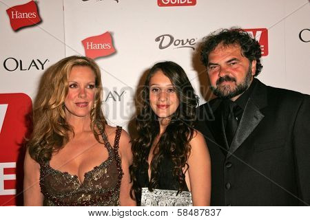 HOLLYWOOD - AUGUST 27: Elizabeth Perkins and family at the TV Guide Emmy After Party August 27, 2006 in Social, Hollywood, CA.