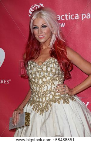 Bonnie McKee at MusiCares Person Of The Year Honoring Bruce Springsteen, Los Angeles Convention Center, Los Angeles, CA 02-08-13