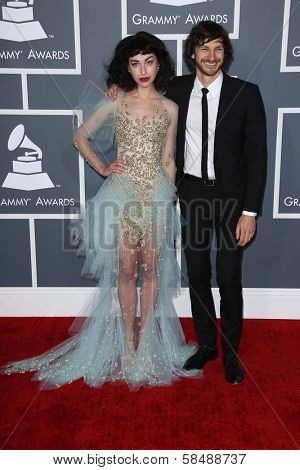 Kimbra Lee Johnson, Wouter De Backer at the 55th Annual GRAMMY Awards, Staples Center, Los Angeles, CA 02-10-13