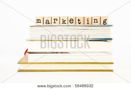 Marketing Wording Stack On Books