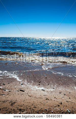 Beautiful Blue Sea