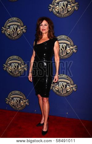 Mary McDonnell at the American Society of Cinematographers 27th Annual Outstanding Achievement Awards, Hollywood & Highland Grand Ballroom, Hollywood, CA 02-10-13