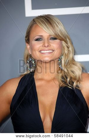 Miranda Lambert at the 55th Annual GRAMMY Awards, Staples Center, Los Angeles, CA 02-10-13