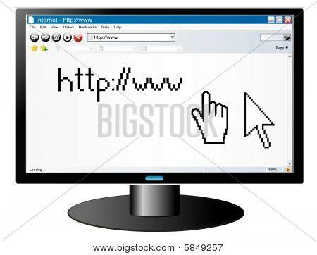 Computer screen