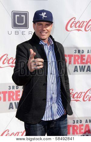 Robert Van Winkle a.k.a. Vanilla Ice at the 3rd Annual Streamy Awards, Hollywood Palladium, Hollywood, CA 02-17-13