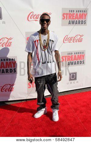 Soulja Boy at the 3rd Annual Streamy Awards, Hollywood Palladium, Hollywood, CA 02-17-13