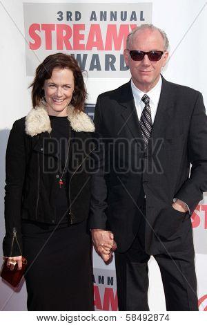 Sarah Clarke, Xander Berkeley at the 3rd Annual Streamy Awards, Hollywood Palladium, Hollywood, CA 02-17-13