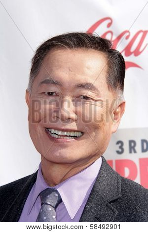 George Takei at the 3rd Annual Streamy Awards, Hollywood Palladium, Hollywood, CA 02-17-13