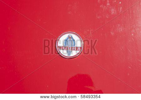 1964 Red Shelby Cobra Emblem