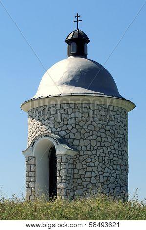 Stone Chapel near Velke Bilovice