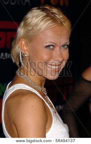 HOLLYWOOD - JULY 11: Oksana Baiul at ESPN The Magazine's