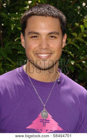 CULVER CITY - JULY 22: Michael Copon at the