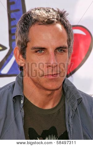 HOLLYWOOD - NOVEMBER 05: Ben Stiller at Bogart Backstage 2006 Children's Choice Awards at Palladium November 05, 2006 in Hollywood, CA
