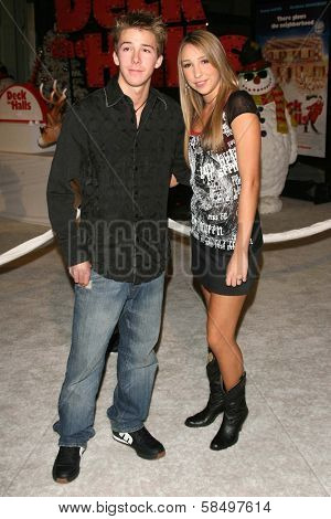HOLLYWOOD - NOVEMBER 12: Bobby Edner and Ashley Edner at the world premiere of