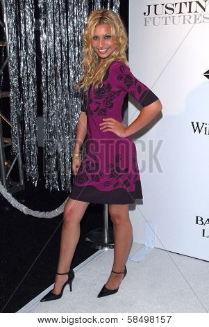 LOS ANGELES - SEPTEMBER 19: AJ Michalka at the album release party for Justin Timberlake's new album