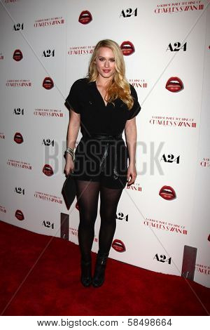 Leven Rambin at the Premiere Of