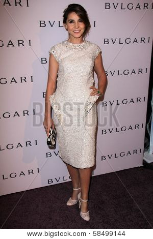 Princess Clotilde Courau at the Elizabeth Taylor Bvlgari Jewelry Collection Unveiling, Bvlgari Beverly Hills, CA 02-19-13