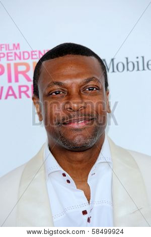 Chris Tucker at the 2013 Film Independent Spirit Awards, Private Location, Santa Monica, CA 02-23-13