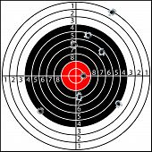 stock photo of piercings  - Shooting target - JPG