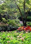 Butchart Gardens in summer, Vancouver Island, Canada